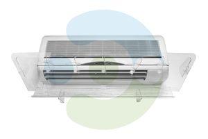 Экран-отражатель для кондиционера настенного Люкс 700 мм