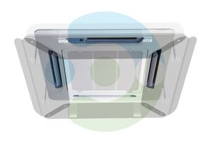 Экран Флат 650х650 мм для потолочного кондиционера – фото 1