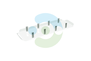 Экран Лонг для вентиляционной решетки (диффузора) – фото 1