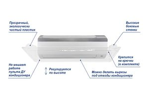 Экран Классик 900 мм для настенного кондиционера – фото 2