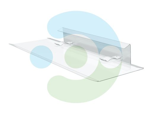 Экран Джет 650х650 мм для потолочного кондиционера – фото 1