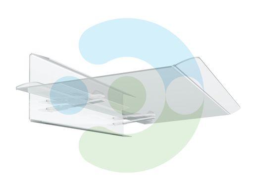 экран для кондиционера потолочного Джет 800x800 мм – вид сбоку