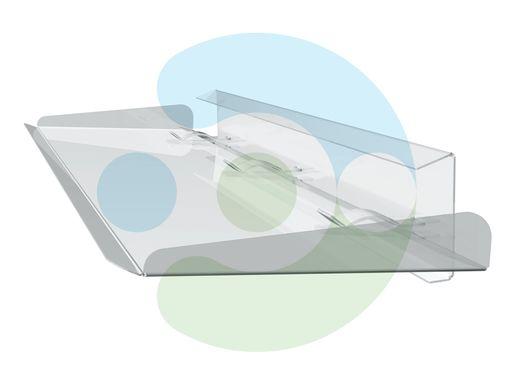 отражатель для кондиционера настенного Стик 800 мм – вид сбоку