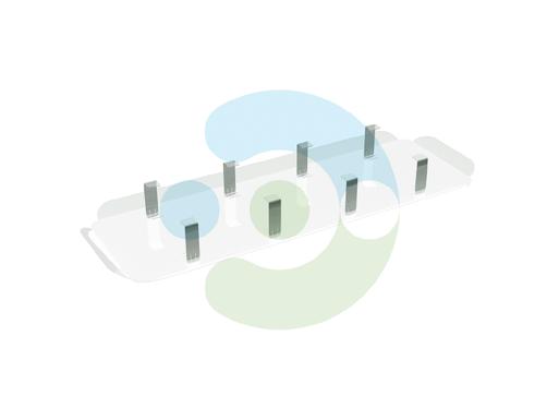 Экран Лонг для вентиляционной решетки (диффузора)
