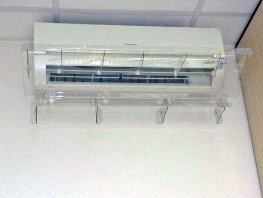 Экран отражатель для кондиционера Люкс 1200 мм – реальное фото