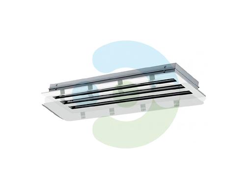 Экран для вентиляционной решетки Лонг – вид снизу