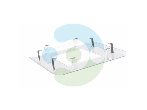Прозрачный экран для потолочного кондиционера Планар 650x650 мм