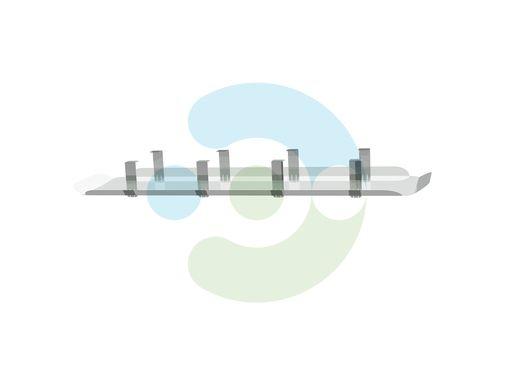 Экран для вентиляционной решетки Лонг (диффузора) – вид сбоку