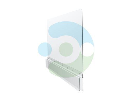 Защитный экран Барьер для фронталей и перегородок – вид сбоку