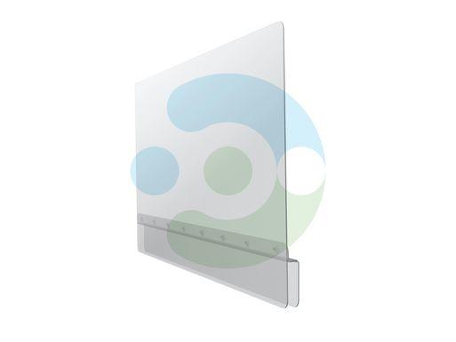 Прозрачный защитный экран Барьер для фронталей и перегородок