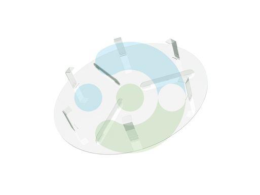Экран Орби 450 мм для вентиляционной решетки (диффузора) – фото 2