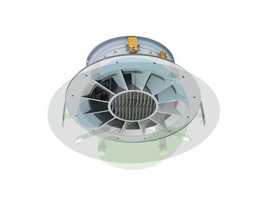 Прозрачный экран для вентиляционной решетки Орби 200 мм