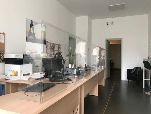 Экран Барьер 1400 мм, монолитный (высота 1000 мм) – фото 5