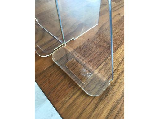 Экран Барьер 1000 мм, мобильный (высота 700 мм), крепеж на двустороннюю монтажную ленту – фото 2