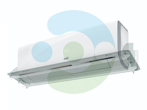 Прозрачный отражатель для кондиционера Классик 1400 мм – вид сбоку