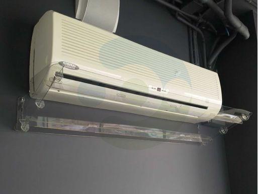 экран для кондиционера Классик 1300 мм на стене