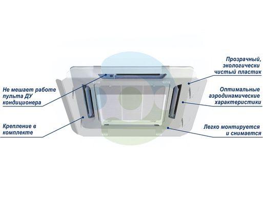 Особенности экрана для потолочного кондиционера Планар 950x950 мм
