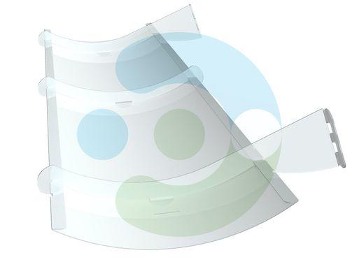 Экран Симпл для настенного кондиционера – фото 3