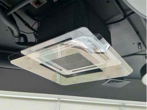 экран Флат 950x950 мм для кондиционера – реальное фото