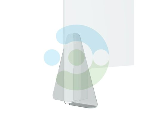 Экран Барьер 1400 мм, мобильный (высота 700 мм), крепеж на двустороннюю монтажную ленту – фото 4