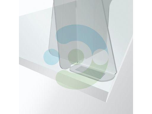 Экран Барьер 1400 мм, мобильный (высота 700 мм), крепеж на двустороннюю монтажную ленту – фото 5